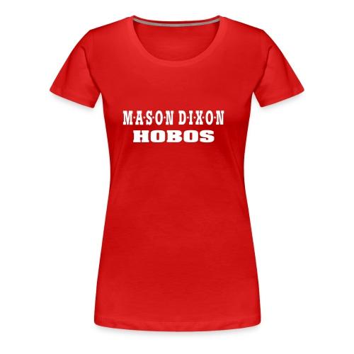 050131 logohobos sw cre - Frauen Premium T-Shirt