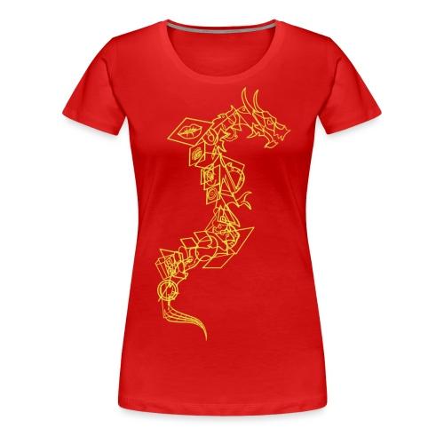 Serpent - Vrouwen Premium T-shirt