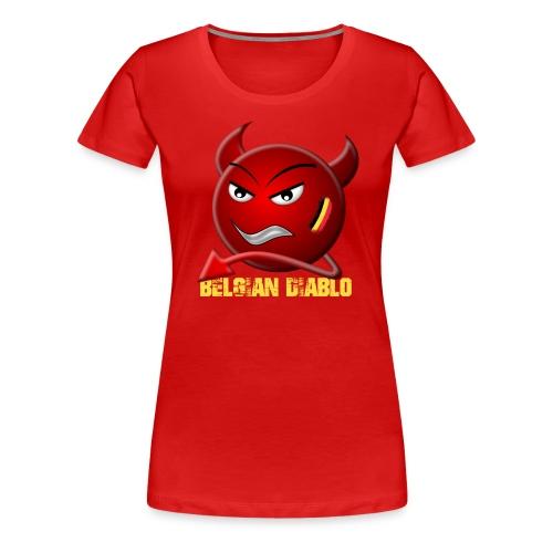 BELGIAN-DIABLO - T-shirt Premium Femme