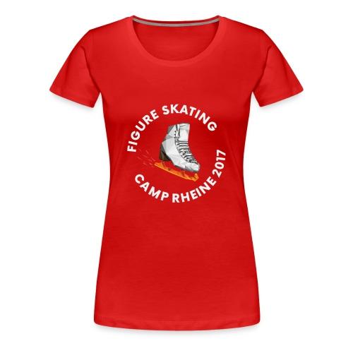 1st International Figure Skating Camp in Rheine - Frauen Premium T-Shirt