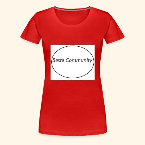 Community - Frauen Premium T-Shirt