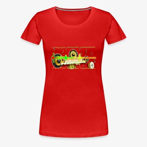 Kansidah Audiowave Music - Frauen Premium T-Shirt