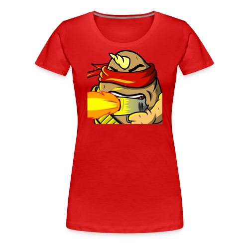 Potato Aim - Frauen Premium T-Shirt
