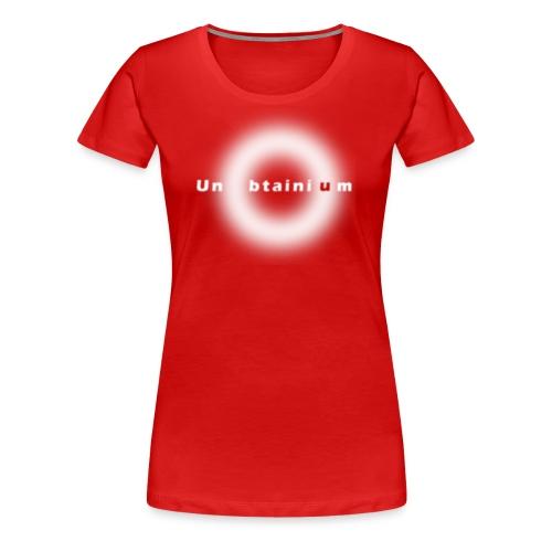 Unubtainium Circle Logo - Frauen Premium T-Shirt