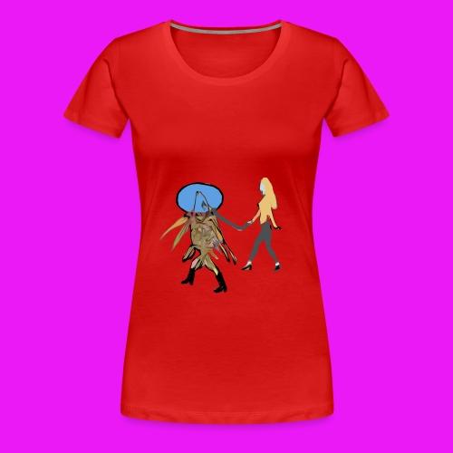 walk your fish - Women's Premium T-Shirt