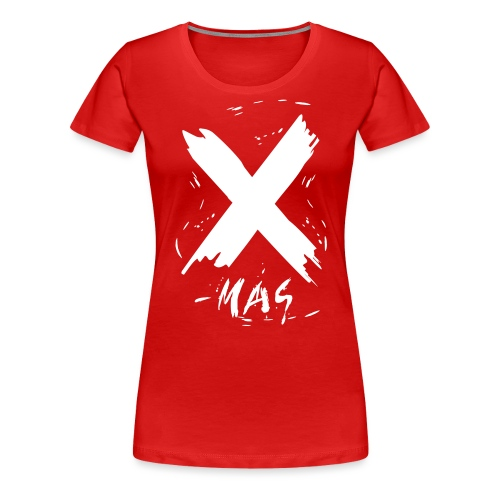 X-mas Merry Christmas - Frauen Premium T-Shirt