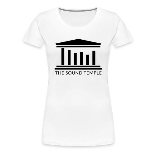 TST Full Logo Black - Women's Premium T-Shirt