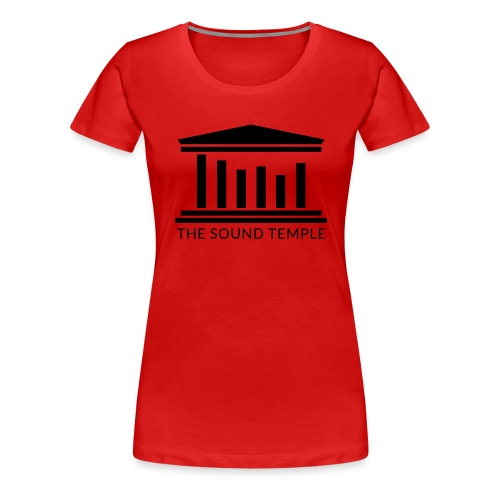 TST Full Logo Black - Women's Premium T-Shirt