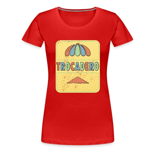 The king of golden soda - Premium-T-shirt dam