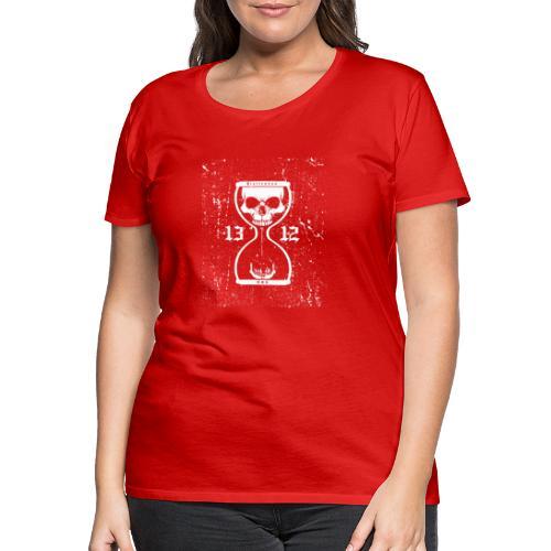 Totenuhr weiss - Frauen Premium T-Shirt