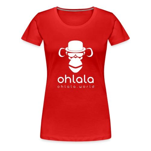 Ohlala Boss WHITE - T-shirt Premium Femme