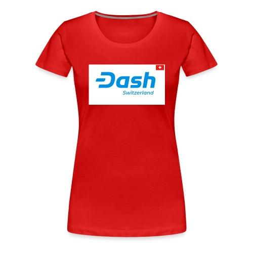 Dash Switzerland - Frauen Premium T-Shirt