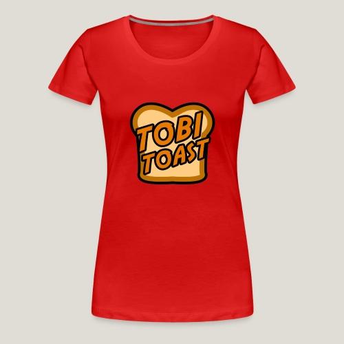 TobiToastTV Logo - Frauen Premium T-Shirt