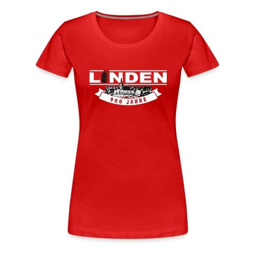 900 Jahre Linden Dorf - Frauen Premium T-Shirt