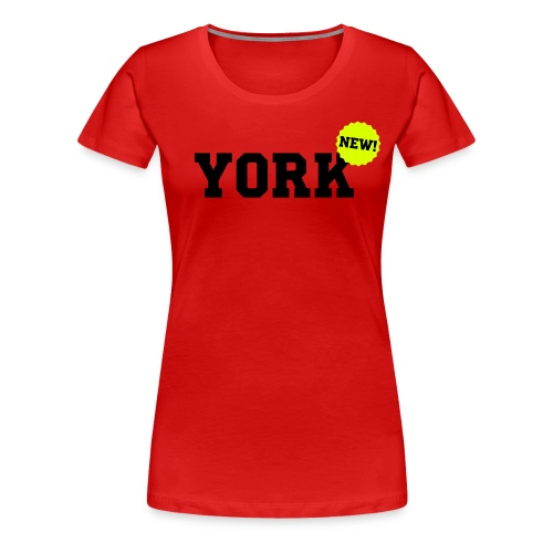 York New - Vrouwen Premium T-shirt