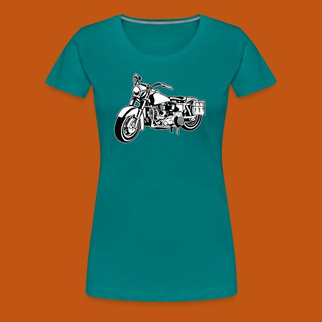 Chopper Motorrad 10_schwarz weiß