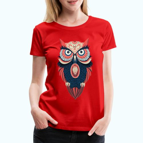 Hippie owl - Women's Premium T-Shirt