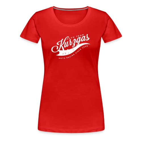 MTK Vintage racing since 2008 - Frauen Premium T-Shirt