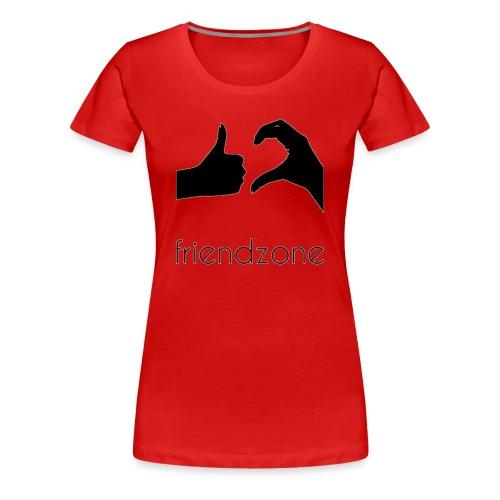friendzone logo - Camiseta premium mujer