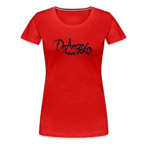 DeAngelo xavier - Vrouwen Premium T-shirt