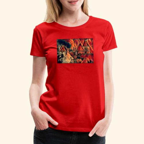 Chaleur campagnarde en feu - T-shirt Premium Femme