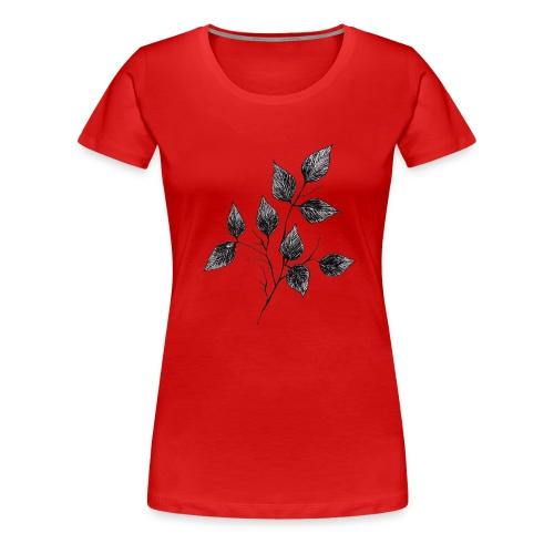 Leaves - Koszulka damska Premium