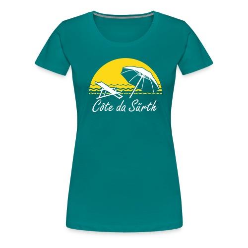 Côte da Sürth - Frauen Premium T-Shirt