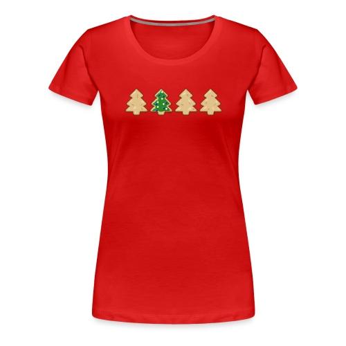 Weihnachtsplatzerl - Frauen Premium T-Shirt