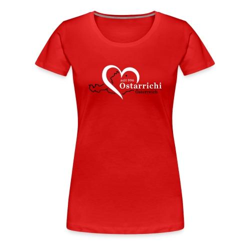 heartoftaustria - Frauen Premium T-Shirt