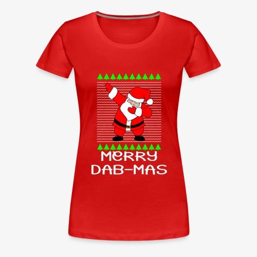 Merry Dabmas Ugly Xmas - Frauen Premium T-Shirt