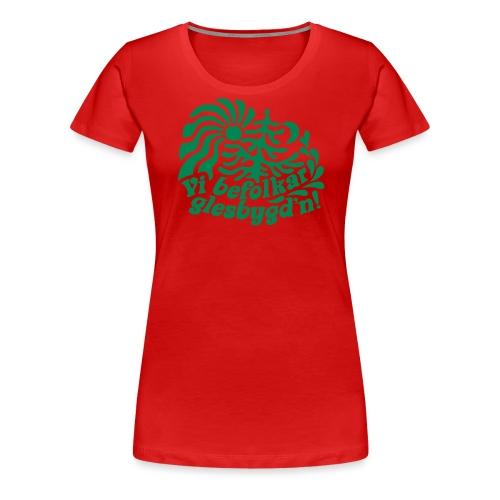 GLESGYGD'N - Premium-T-shirt dam