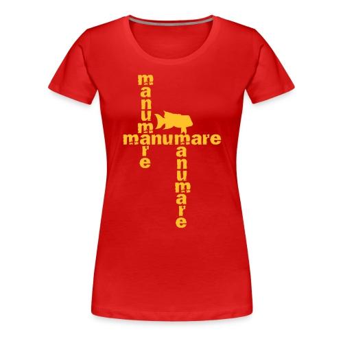 3xmanumare_1_lippfisch_ - Frauen Premium T-Shirt