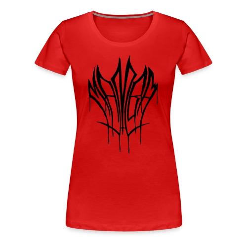 Black Mamba - Naisten premium t-paita