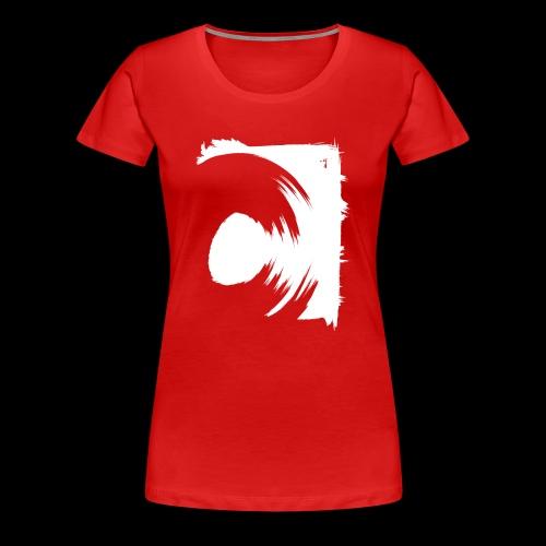 spin (white) - Frauen Premium T-Shirt