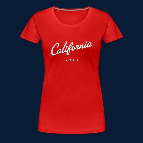 California - Frauen Premium T-Shirt