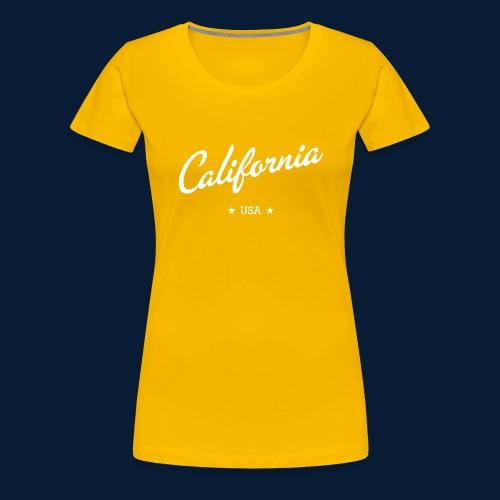California - Frauen Premium T-Shirt