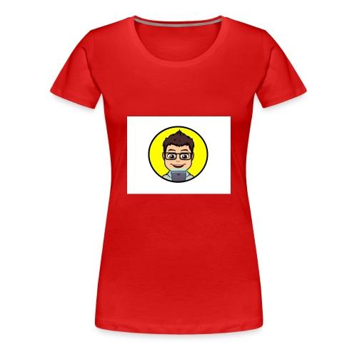 Youtube kanaal icon zonder naam - Vrouwen Premium T-shirt
