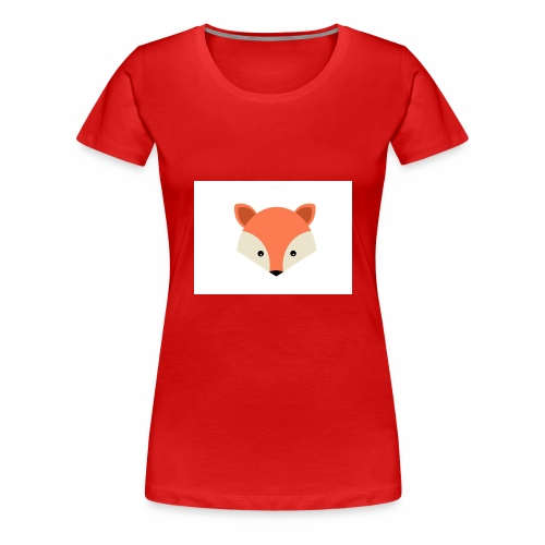 Das ist das 2 Fuchs Design - Frauen Premium T-Shirt