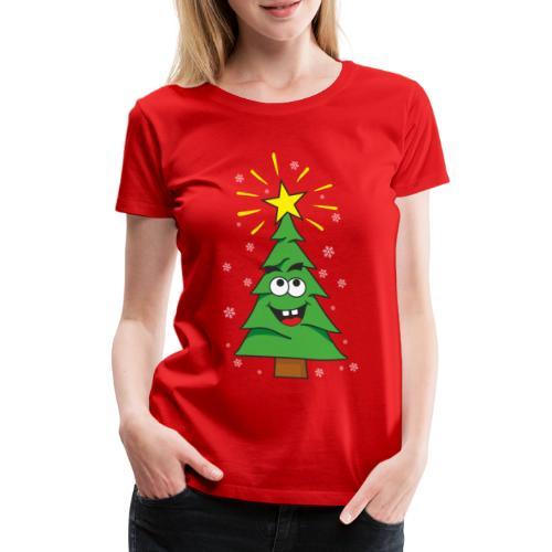Árbol de navidad - Camiseta premium mujer
