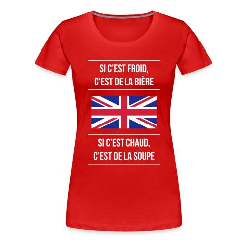 Cuisine anglaise - T-shirt Premium Femme