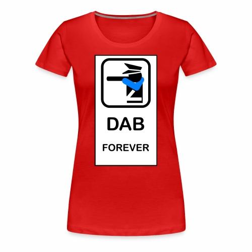 DAB POLICE - Maglietta Premium da donna