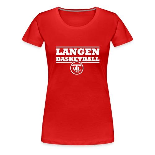 113799088 140717199 TV Langen Basketball - Frauen Premium T-Shirt