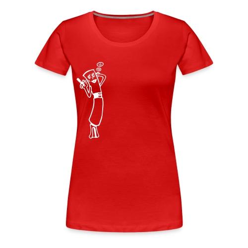 egomitdampfem - Frauen Premium T-Shirt