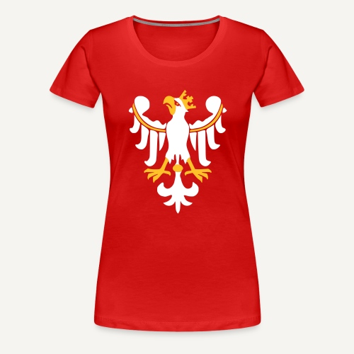 Orzeł Piastowski - Koszulka damska Premium