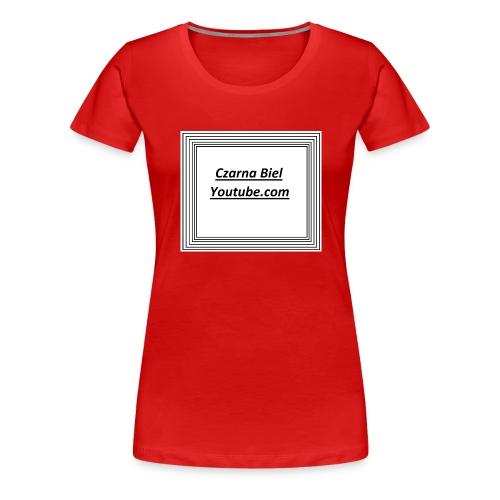 yt_cb - Koszulka damska Premium