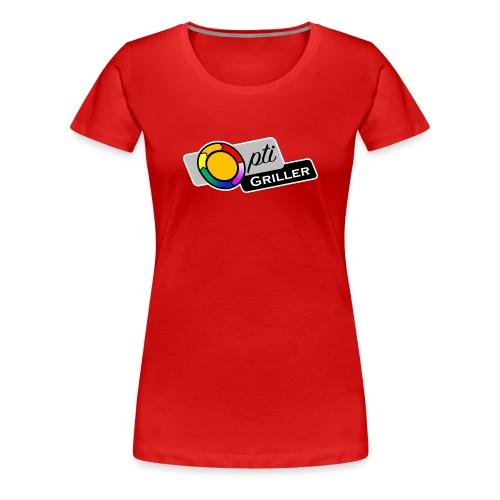 OptiGriller Merchandise Shop - Frauen Premium T-Shirt