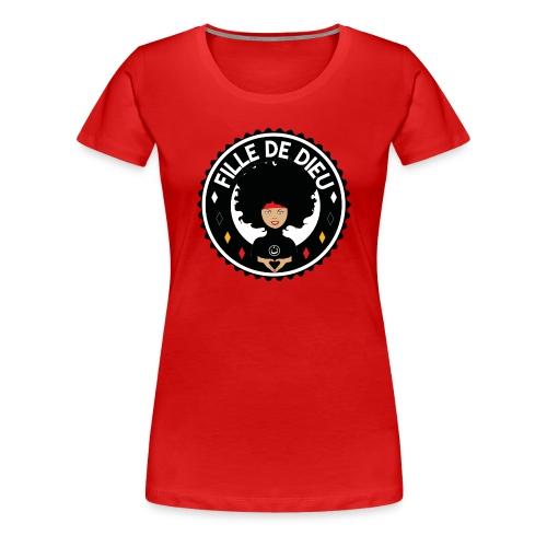 fille de Dieu - T-shirt Premium Femme
