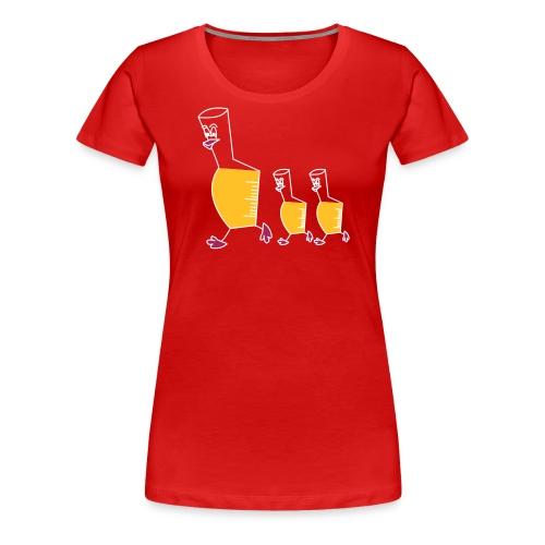 entchen - Frauen Premium T-Shirt