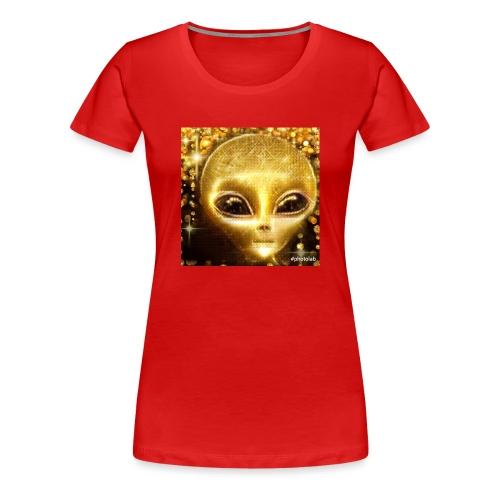 Golden Alien the first born ever - Women's Premium T-Shirt
