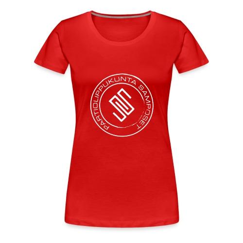Leima läpinäkyvä - Naisten premium t-paita